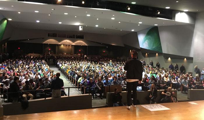 Filp The Script School Assembly Tour